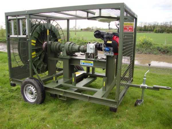 Large helikite Winch